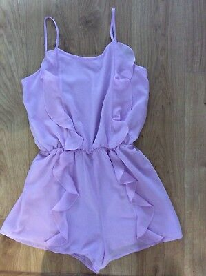 New Look Girls Lilac Playsuit Age 13 Years