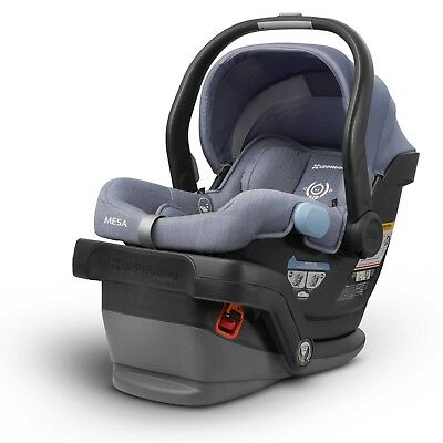 Infant Car Seat UppaBaby Mesa Adjustable Foot and Padded Headrest in Henry
