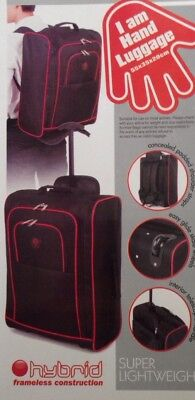 Ryan Air EasyJet Trolley Cabin Approvd Suitcase Hand Luggage Flight Bag