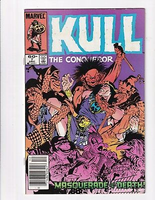Kull The Conqueror #7 (Marvel 1984)