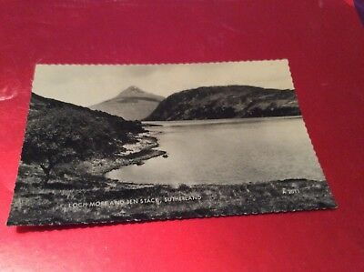 1969 Loch More And Ben Stack, Sutherland (Real Photo) Postcard