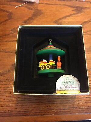 1978 Hallmark Tree-Trimmer Carousel Twirl-About Christmas Ornament