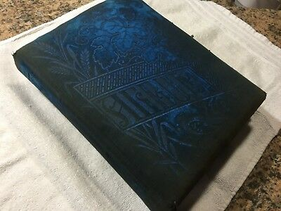 Antique Victorian Family Photo Album Snyders of Hanover Sinsheim PA Hanover PA