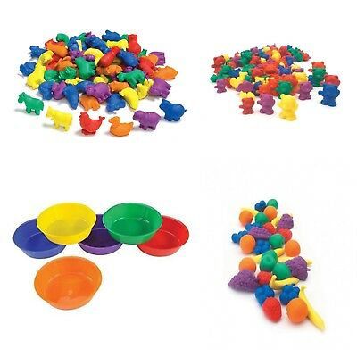Sorting Counters - Motor Skills Maths SEN - Home Early Learning Toy Montessori