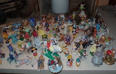 Disney Mini's HUGE LOT~120 pieces~Awesome Estate Find~