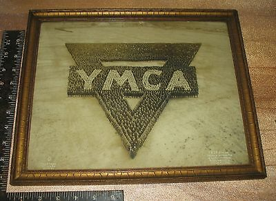 Rare Mole & Thomas Living Photograph YMCA Silver Gelatin Framed c.1917 Est.$1000