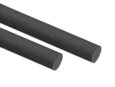 "GRAPHLITE CARBON RODS 0.125"" Dia., 2' long, 2/pkg."