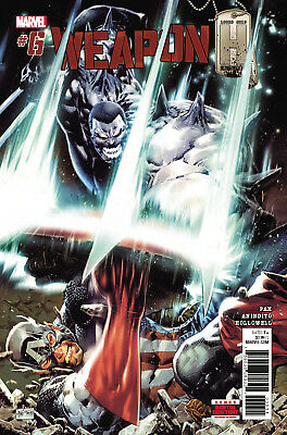 Weapon H #6 (Marvel, 2018) NM