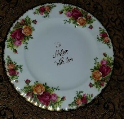 Royal Albert country roses Mother's Day present! .