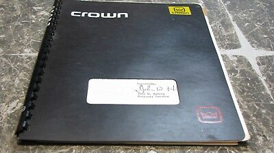 Crown D-150A Power Amplifier Manual