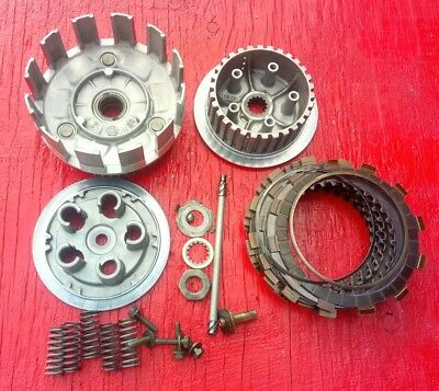01-07 Yamaha YZ250F Clutch Assembly - Basket, Hub, Plates etc. + 01-09 WR250F