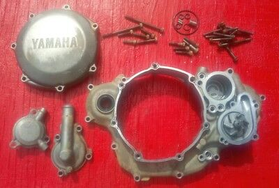 2004 Yamaha YZ250F Inner & Outer Clutch Cover + Water Pump