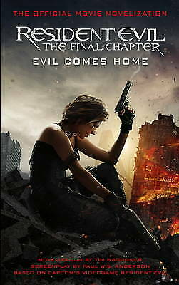 Resident Evil: The Final Chapter by Tim Waggoner (Paperback) Book