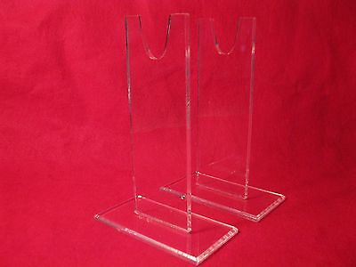 "SIX  5"" Acrylic USMC WW2 Springfield Armory Garand Bayonet  Knife Display STANDS"
