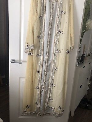 2 piece Moroccan wedding kaftan/lebsa sari inspired