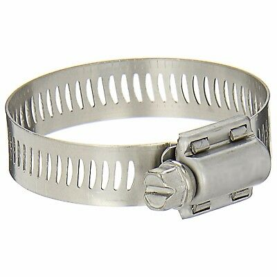 Hose Screw Clamps Stainless Steel Adjustable 16-25mm -  Bag of 100 Clamps
