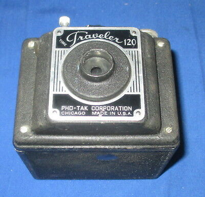 Vintage Time Traveler 120 Box Camera PHO-TAK Corporation *Fast Ship* C23