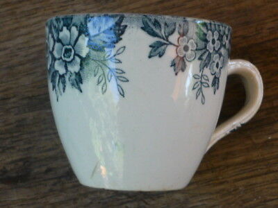 Ancienne Tasse A Cafe Signee Moulin Des Loups St Amand Decor Marie Louise Tbe