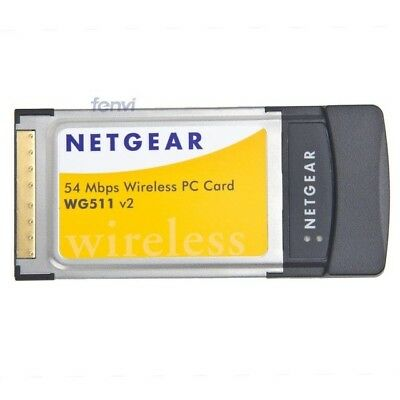 Netgear WG511 V2 54 Mbps Wireless PC Card