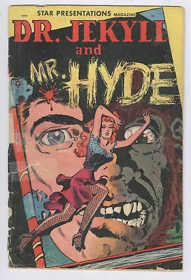 Star Presentations Magazine #3 Dr. Jekyll And Mr. Hyde 1950 PR Golden Age Comic