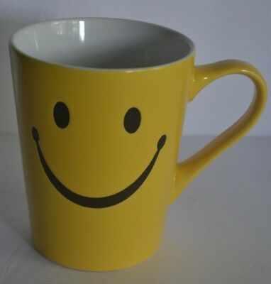 Burton & Burton Yellow Smiley Smile Face Coffee Cup Mug