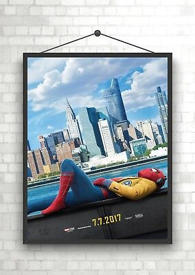 Spiderman Homecoming Classic Movie Poster Art Print A0 A1 A2 A3 A4 Maxi
