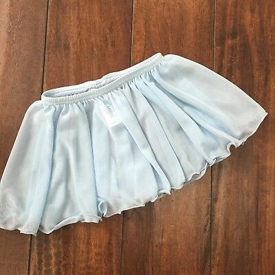 Capezio Baby Blue Circle Ballet Skirt Size Toddler
