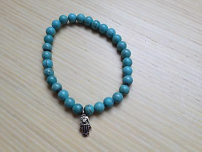 Turquoise and silver 925 bracelets x (2)