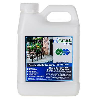 Serveon Sealants H2Seal H2100 Stone Sealer - Professional Grade for Natural