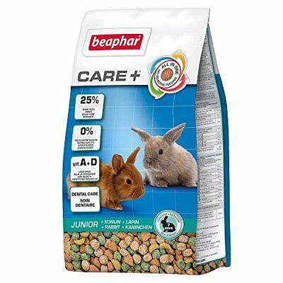 Beaphar Care+ alimentation super premium - lapin junior - 250 g