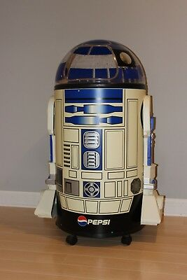 R2D2 Pepsi Cooler with sound device, good condition
