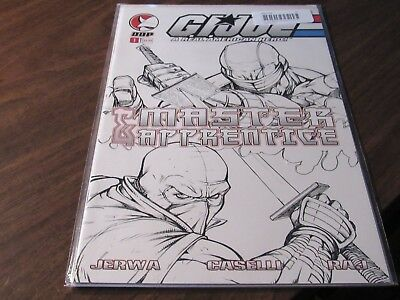 GIJOE Master & Apprentice #1 Sketch Cover Variant Comic Book DDP First issue