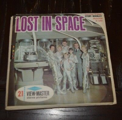 Vintage View-Master (1967) LOST IN SPACE THE CONDEMNED SPACE B482 Dr. Smith