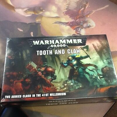 40K Warhammer Tooth and Claw Space Wolves Genestealers NIB PreOrder Ships 8/25