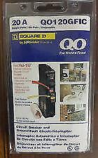 Square D Qo120Gfic Qo120Gfi 20Amp Gfci Ground-Fault Breaker New In Package