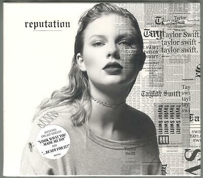 Taylor Swift Reputation Sealed Cd New
