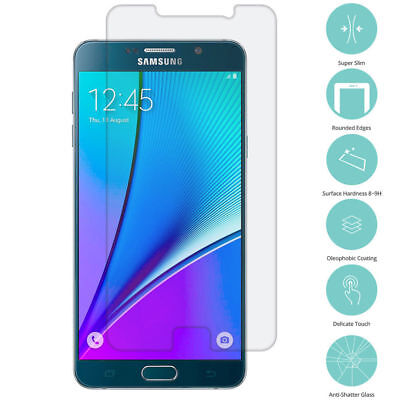 2X Real Premium Tempered Glass Film Screen Protector for Samsung Galaxy Note 5