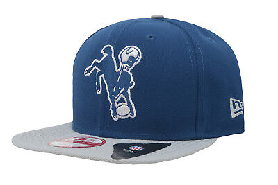 check out 037dc 04235 NEW ERA 9Fifty NFL Indianapolis Colts Royal Blue Gray Snapback Cap Men Hat