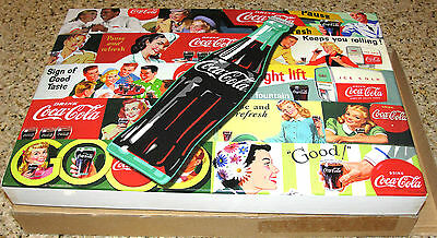 COCA COLA PUZZLE 1000 PIECES BRAND NEW 2012 Piece together Coke history