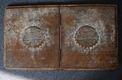 Pepsi Cola Vintage Cooler Lid Embossed Raised Lettering Double Dot Logo