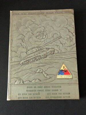 A Pictorial History of the Second U.S. Armored Division Camp Hood 1949 Book UFO