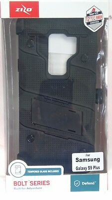 new product 7eeef 4bb10 ZIZO BOLT SERIES Samsung Galaxy S9 / S9 Plus Case 12ft Tested Screen ...