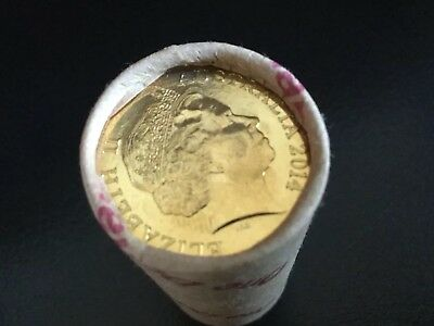 2014 $1 Mint Roll (((((scarce)))) (UNC) ONLY 5000 Rolls Made
