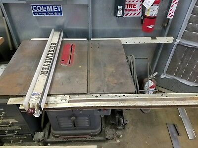 """Delta Rockwell 34-450 10"""" Unisaw Table Saw"""