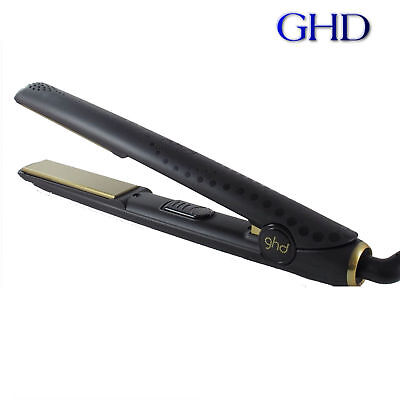 GENUINE WOMEN LADIES GHD HAIR STRAIGHTENERS SET 5.0 Black AND GOLD (GRADE A)!!!!