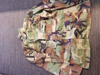 US 1st Cavalry BDU - Woodland camo - Medium