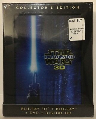 Star Wars: The Force Awakens Collector's Edition (3D + Blu-ray + DVD + Digital)