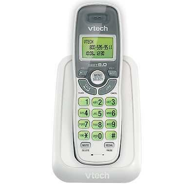 VTech CS6114 White Cordless Phone Call Waiting Caller ID