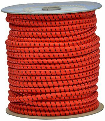 Corderie Italiane 6005070-00 Braid Élastique 8 Mm-50 M Rouge
