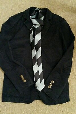 boys next smart jacket blazer and tie 9yrs